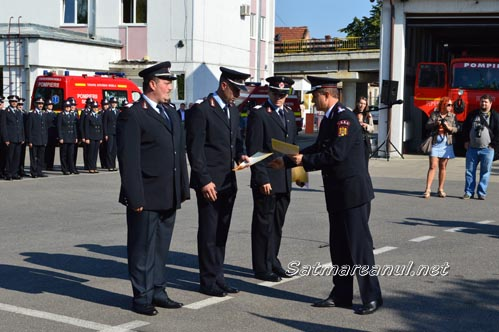 """""""Ziua Pompierilor din România"""" a fost marcată și la Satu Mare (Foto)"""