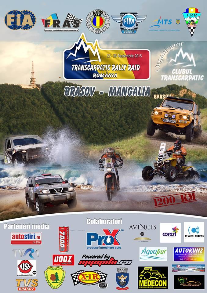 Sătmărenii Ovidiu Domide și Daniel Nistor participă la Campionatul Național de Rally Raid