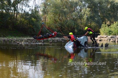 Simulare: Accident cu un mort și doi răniți pe Podul Decebal (Galerie foto)