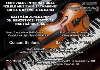 Concert simfonic la Castelul Karolyi