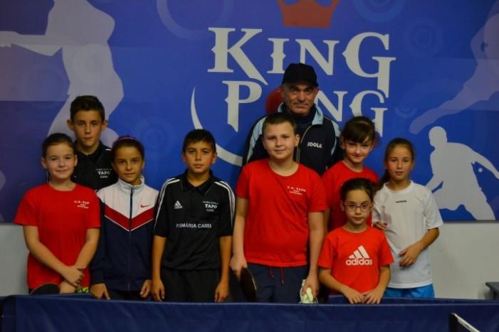 """Cupa """"King-Pong"""" la tenis de masă"""