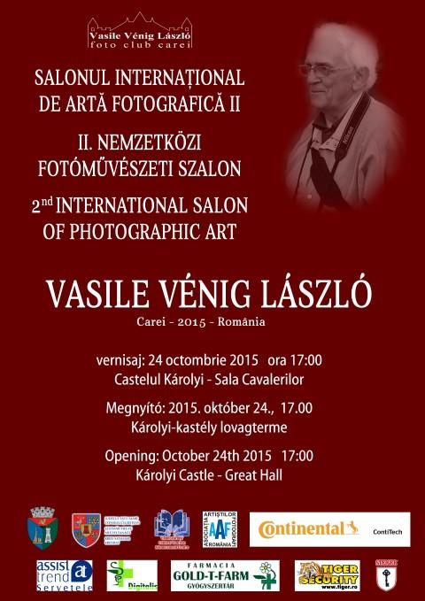 """Salonul Internațional de Artă Fotografică """"Vasile Vénig László"""" la Carei"""