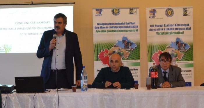 Rezultatele implementării LEADER în GAL Sud-Vest Satu Mare