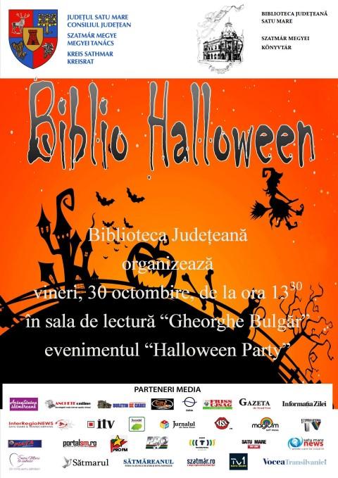 Halloween Party la Biblioteca Județeană Satu Mare