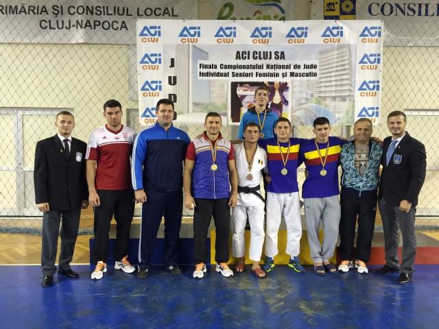 Cinci medalii pentru CSM Satu Mare la Campionatul Național de judo seniori