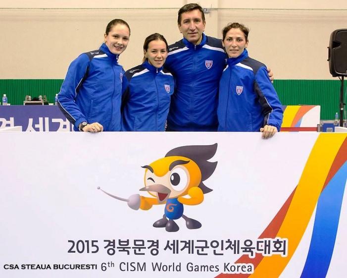 România, cu Simona Pop în echipă, a cucerit medalia de argint la Jocurile Mondiale Militare