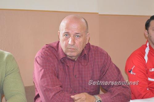 Valeriu Neagu și-a dat demisia din funcția de președinte al CSM Satu Mare