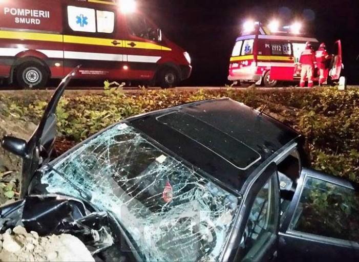 Accident mortal pe DN 1C Baia Mare-Satu Mare (Foto&Video)