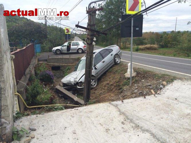 Accident pe Drumul European Baia Mare-Satu Mare (Foto&Video)
