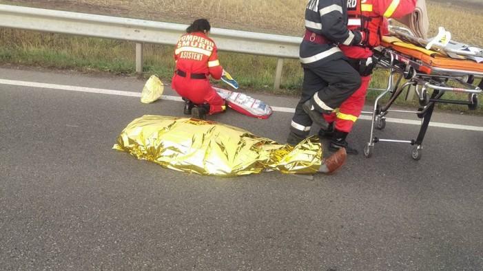 Accident mortal la ieșirea din localitatea Decebal (Galerie foto)
