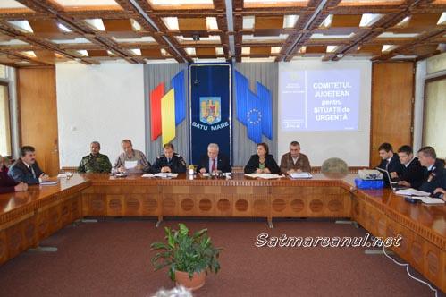 Cutremurele și inundațiile, riscurile majore pentru județul Satu Mare