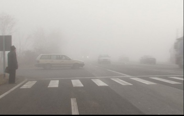 Dimineața cu ceața în judetul Satu Mare