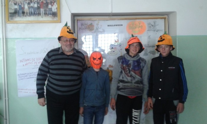 """Halloween Party"" la Colegiul Tehnic ""UNIO-Traian Vuia"""