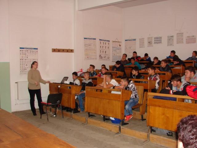 """Educație pentru sănătate la Colegiul Tehnic """"UNIO – Traian Vuia"""""""