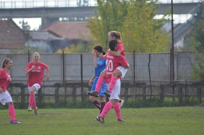 Fotbal feminin: Juniorul Satu Mare, prima victorie în Liga I