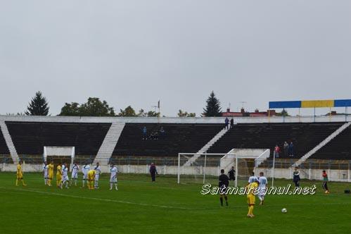 Fotbal: Olimpia Satu Mare-CS Mioveni 0-1