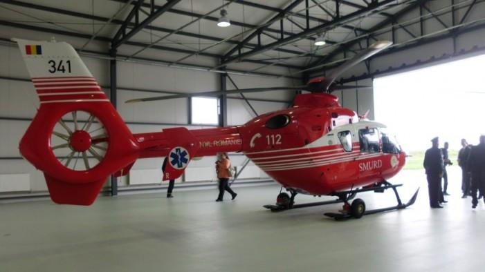 Heliport SMURD la Jibou. Elicopterul va deservi și județul Satu Mare