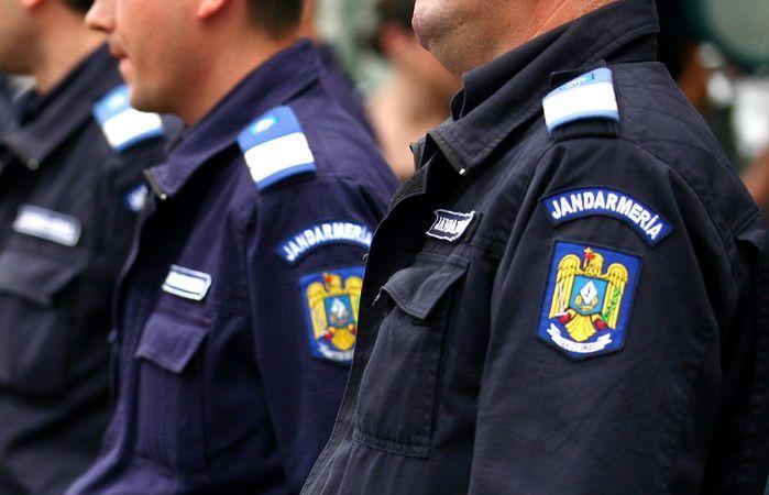 """Jandarmii vor asigura ordinea publică de """"Ziua Armatei Române"""""""