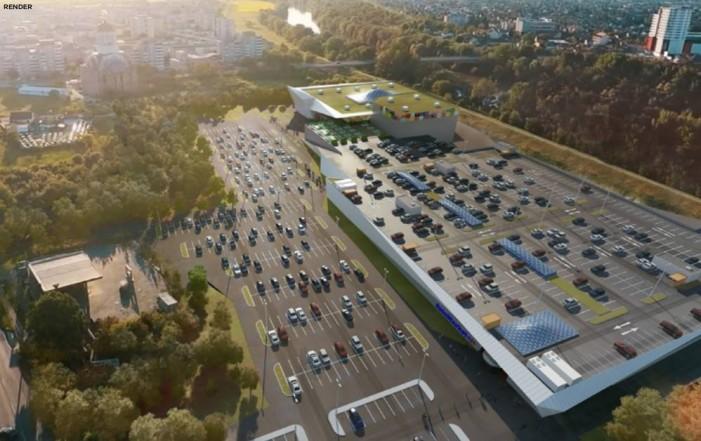 Vezi primele imagini cu Mega Mall-ul din Satu Mare