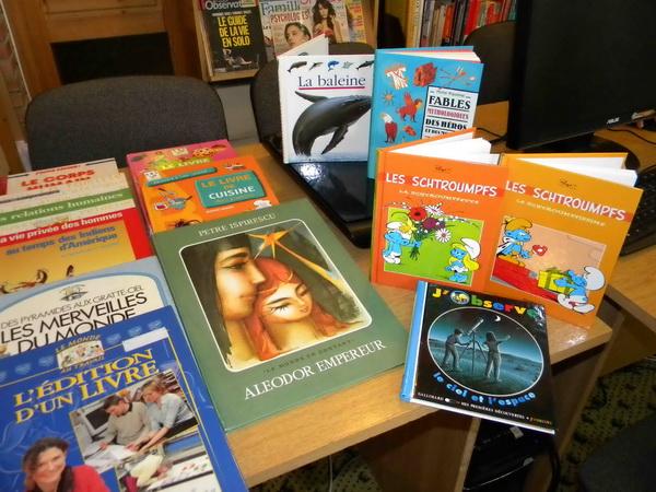 Cărți în limba franceză pentru școlile și grădinițele din Satu Mare