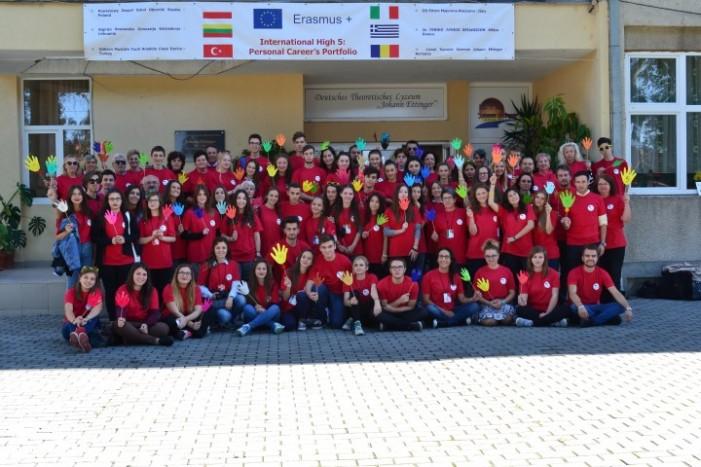 Elevi și profesori din cinci țări, în vizită la Liceul Teoretic German