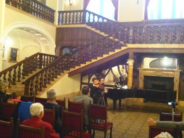 Recital de muzică clasică la Castelul din Carei