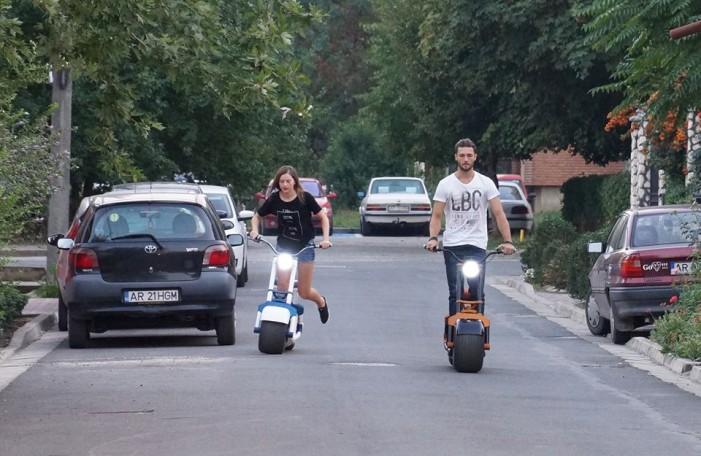 Scooterson – un scuter inteligent dezvoltat la Arad