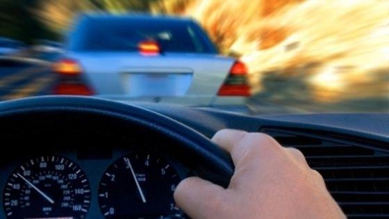 Șofer prins după o urmărire ca-n filme