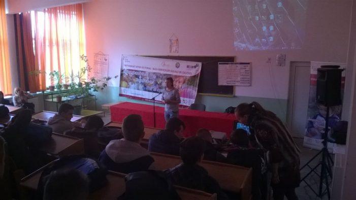 Activitate de promovare a voluntariatului la Colegiul Tehnic Unio- Traian Vuia