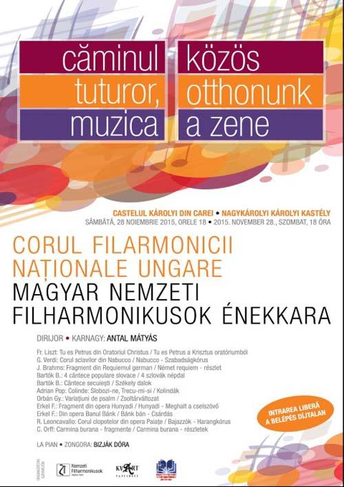 Concert coral de muzică clasică la Castelul Karolyi