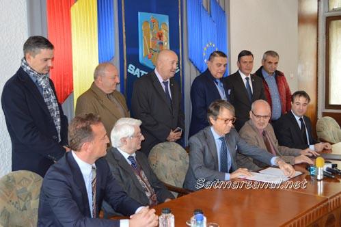 S-a semnat contractul pentru centura de ocolire a municipiului Satu Mare (Foto&Video)