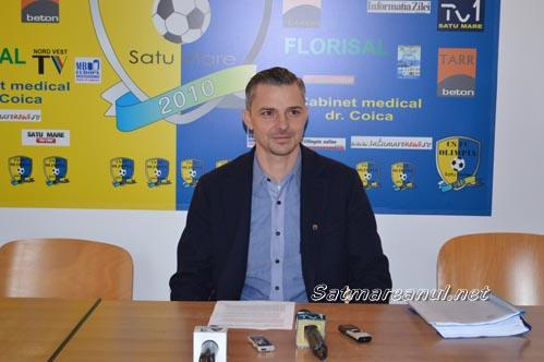 Vezi răspunsul președintelui FC Olimpia Satu Mare la acuzațiile lui Adrian Cozma (Video)