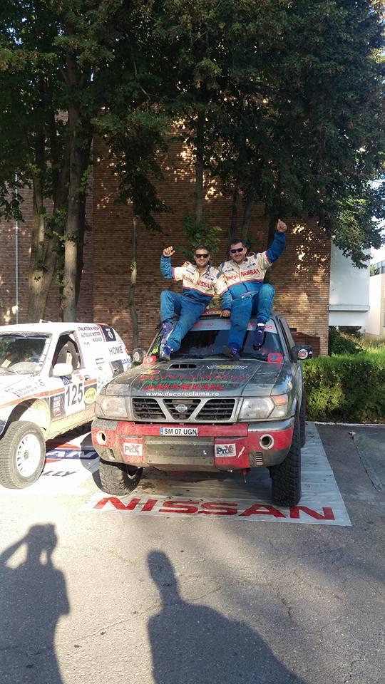 Ovidiu Domide și Daniel Nistor, campioni naționali la Rally Raid