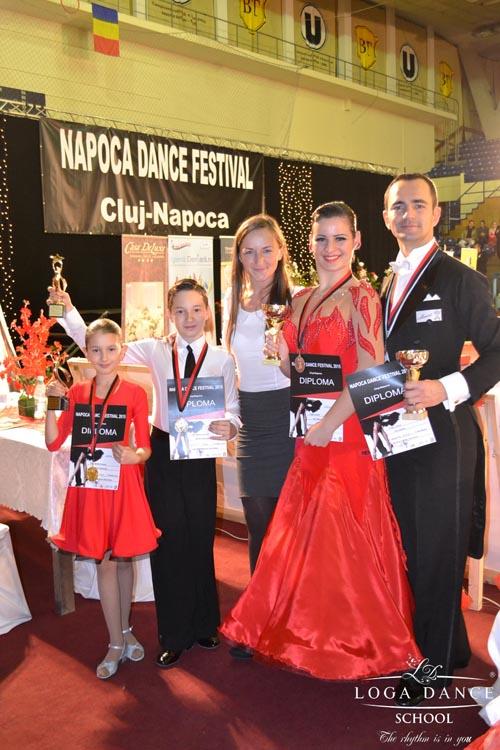 """Rezultate de excepție pentru Loga Dance School, la """"Napoca Dance Festival"""""""