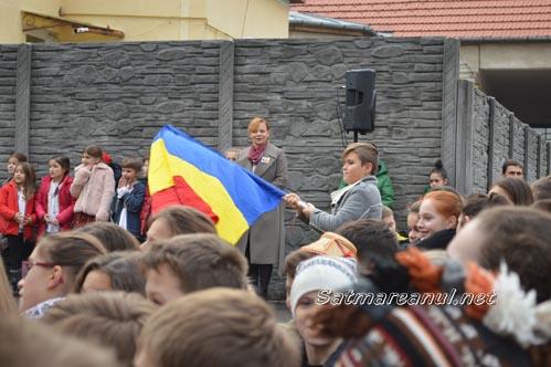 """Ziua Națională a României, marcată la Școala Gimnazială """"Grigore Moisil"""" (Galerie foto)"""