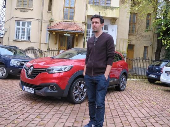 Povestea sătmăreanului Victor Sfiazof, designer-ul celui mai nou SUV Renault (Foto&Video)