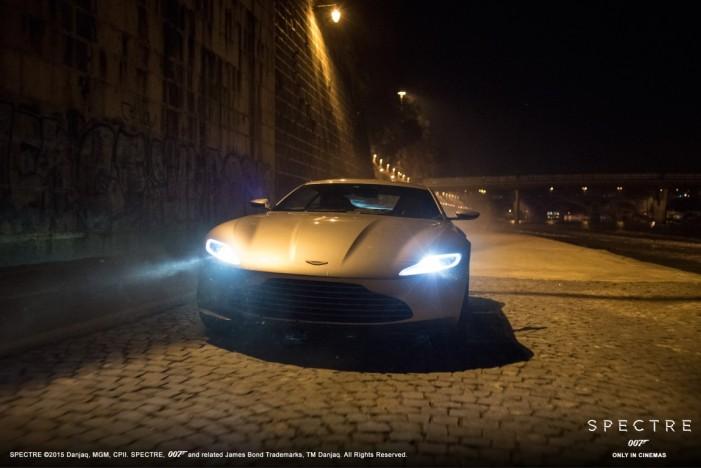 """Vezi cum arată Aston Marti-ul lui Bond din noul film """"Spectre"""" (Foto&Video)"""