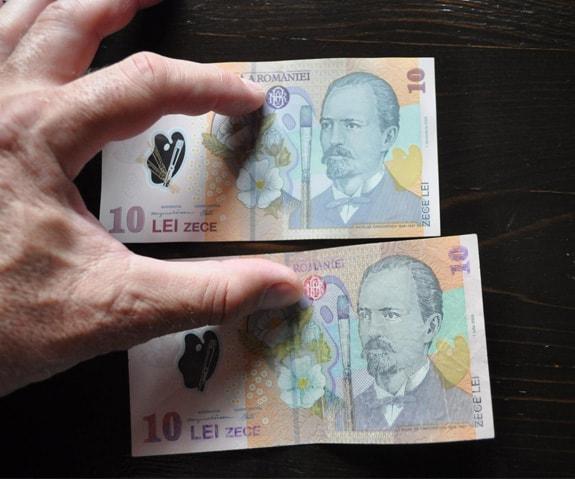 Atenție ! Bancnote false pe piață