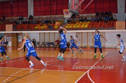 Baschet: CSM Satu Mare-CSU Alba Iulia 52-108 (video)