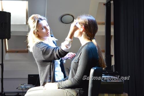 "Seminarii de machiaj la ""Beauty Days"" Satu Mare 2015 (Foto&Video)"