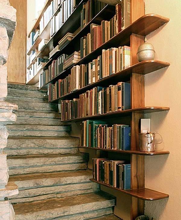 Cum să amenajezi o bibliotecă în orice colțișor din casă (Foto)