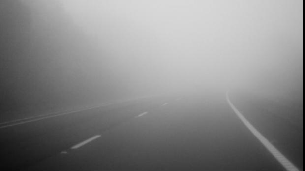 Cod galben de ceață în județul Satu Mare