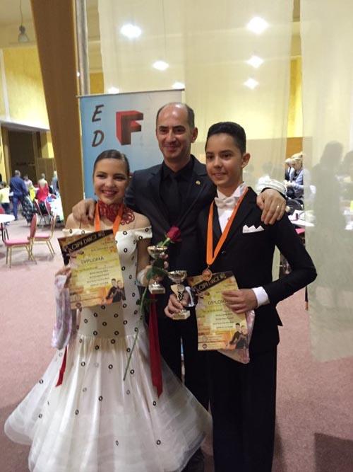Locul III pentru Royal Dance Satu Mare, la Concursul Național de la Târgu Mureș