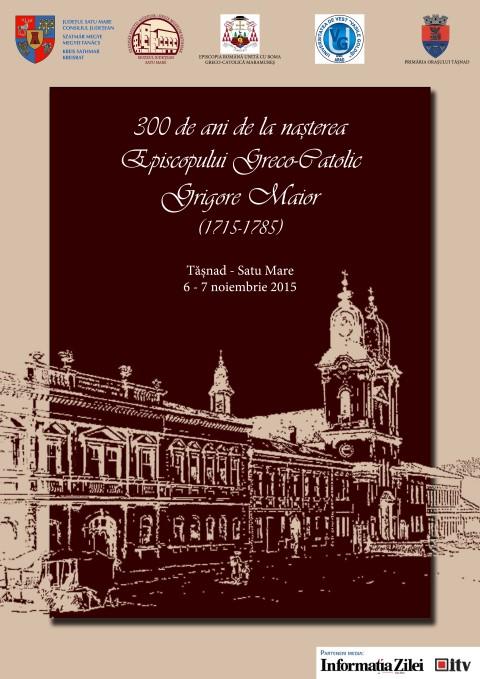 300 de ani de la nașterea episcopului Grigore Maior