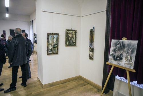"""Expoziția Asociației """"Provinciart"""" la Castelul din Carei (Foto)"""