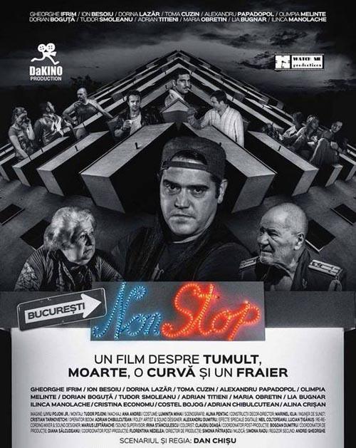 """Dan Chișu lansează filmul """"București NonStop"""" și la Carei"""