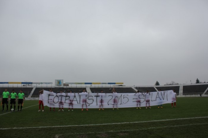 Protest pe Stadionul Olimpia: Metalul Reșița a refuzat să joace (Foto)