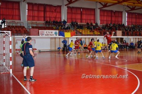 Handbal: CSM Satu Mare-CSM Făgăraș 29-26 (Foto&Video)