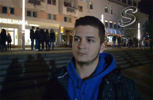Doi sătmăreni explică de ce au ieșit la protest (Video)