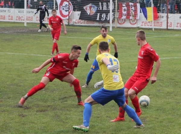 Fotbal: UTA Arad-Olimpia Satu Mare 4-1